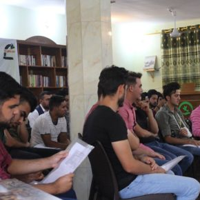 A Training in Nonviolence in Hit, the First Since its Liberation from Daesh