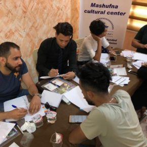 Campaign Brainstorming with the Youth Volunteers of the Mashufna Center