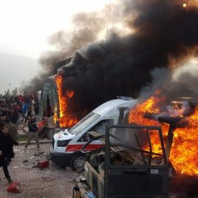Iraqi Kurds Went Anger with Violent Protest Against Turkey