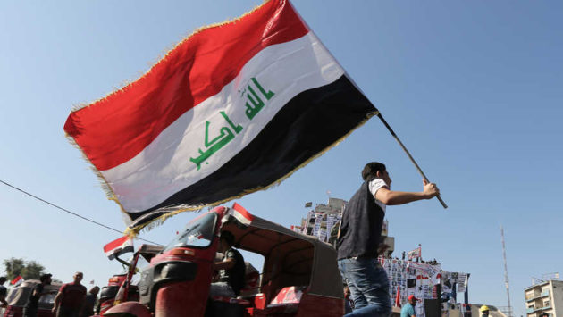Shiite protesters get broad backing throughout Iraq