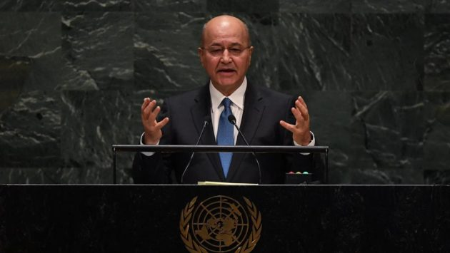 Iraqi President Says Early Elections Will Go Ahead Despite Insecurity